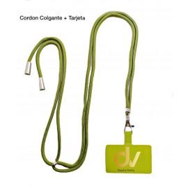 Cordon Colgante + Tarjeta Verde