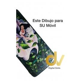 A73 / F17 Oppo Funda Dibujo 5D Princesa