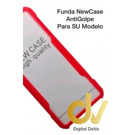 Mi 10T Xiaomi Funda NewCase Antigolpe Rojo