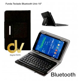 "Funda Teclado Bluetooth Universal 10"" Negro"