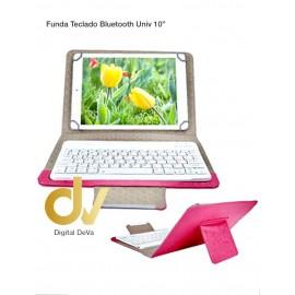 "Funda Teclado Bluetooth Universal 10"" Rosa"