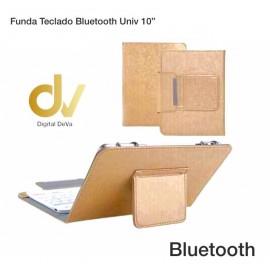 "Funda Teclado Bluetooth Universal 10"" Dorado"