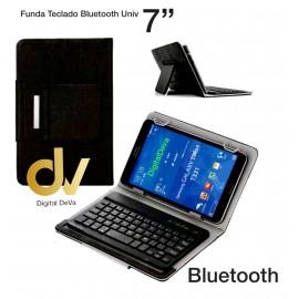 "Funda Teclado Bluetooth Universal 7"" Negro"