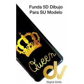 Redmi Note 9 Xiaomi Funda Dibujo 5D Queen