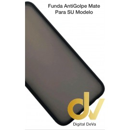 iPhone 12 Pro Max 6.7 Funda AntiGolpe Mate Negro