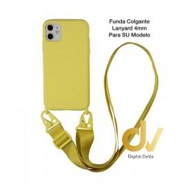 iPhone 11 Pro Funda Colgante Langyard 4mm Amarillo