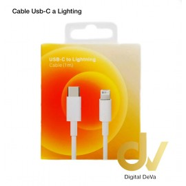 Cable Usb-C a Lighting