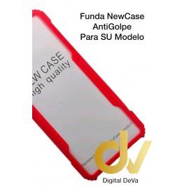 A72 5G Samsung Funda NewCase Antigolpe Rojo