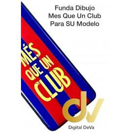 K51S LG Funda Dibujo Flex MES QUE UN CLUB