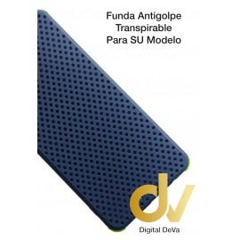 A02S Samsung Funda Antigolpe Transpirable Azul