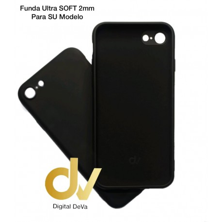 iPhone 12 Pro Max 6.7 Funda Silicona Soft 2mm Negro