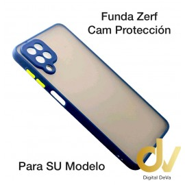 iPhone 12 Mini 5.4 Funda Zerf Cam Proteccion Azul
