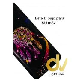 A02S Samsung Funda Dibujo 5D Atrapa Sueños Lila