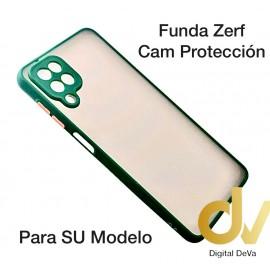 A21S Samsung Funda Zerf Cam Proteccion Verde