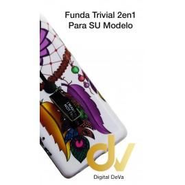 S8 Plus Samsung Funda Trivial Dibujo Atrapa Sueños Lila