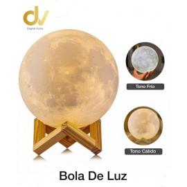 Bola De Luz 3 Colors 12cm