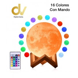 Bola De Luz 16 Colors 12cm