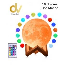 Bola De Luz 16 Colors 18cm