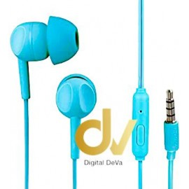 Auricular THOMSON EAR3005 TURQUESA con Micrófono