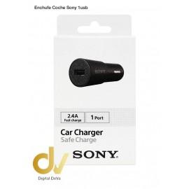 Enchufe Coche SONY CADBE, 2.4A 1 USB