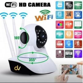 Cam Wifi 3 Antenas Rotativo