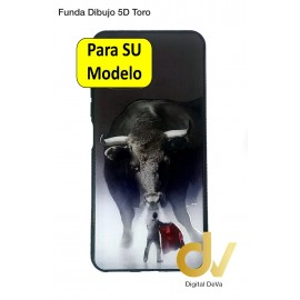 Mi 11 Lite 5G Xiaomi Funda Dibujo 5D Toro