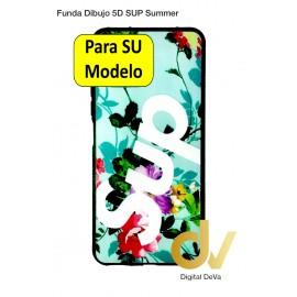 A52 5G Samsung Funda Dibujo 5D Supr Floral Verde