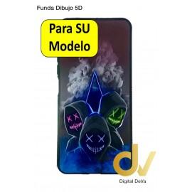 A52 5G Samsung Funda Dibujo 5D Mascaras