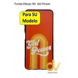 Redmi Note 9S / Note 9 Pro Xiaomi Funda Dibujo 5D Girl Power