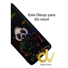 Redmi Note 10S Xiaomi Funda Dibujo 5D Oso Panda