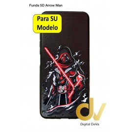 Redmi Note 10S Xiaomi Funda Dibujo 5D Arrow Man