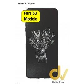Redmi Note 10S Xiaomi Funda Dibujo 5D Pajaros