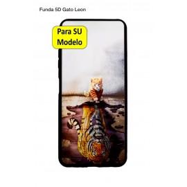 S21 FE 5G Samsung Funda Dibujo 5D Gato Leon