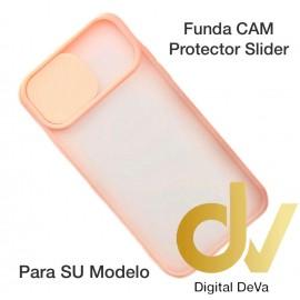A42 5G Samsung Funda CAM Protector Slider Rosa