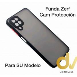 A22 4G Samsung Funda Zerf Cam Proteccion Negro