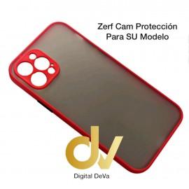 A22 4G Samsung Funda Zerf Cam Proteccion Rojo