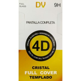 iPHONE CRISTAL Plano 4D FULL GLASS
